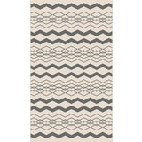 Hladko Tkaný Koberec Edgar 2 - krémová/strieborná, Moderný, textil (100/150cm) - Modern Living