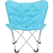 Zahradní Židle Cesia - barvy stříbra/tyrkysová, Moderní, kov/textil (70/82/42cm) - MODERN LIVING
