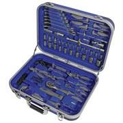 Werkzeugkoffer 03156 1/2' und 1/4', 82-teilig - Blau, MODERN, Kunststoff/Metall (48,5/39,5/15,5cm) - Erba
