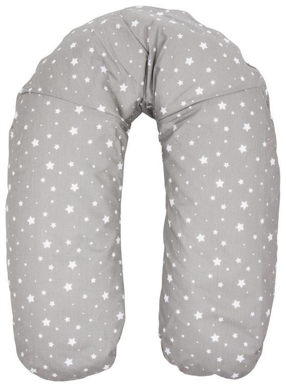 Stillkissen 160cm - Weiß/Grau, MODERN, Textil (160cm) - Fillikid