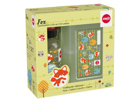 Trinkflasche 518139 'fox' - Klar, Basics, Kunststoff (18,5/7,5/18,3cm)