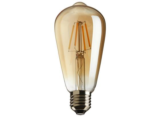 Deko-žiarovka C80324mm - zlatá, sklo (6cm) - Mömax modern living