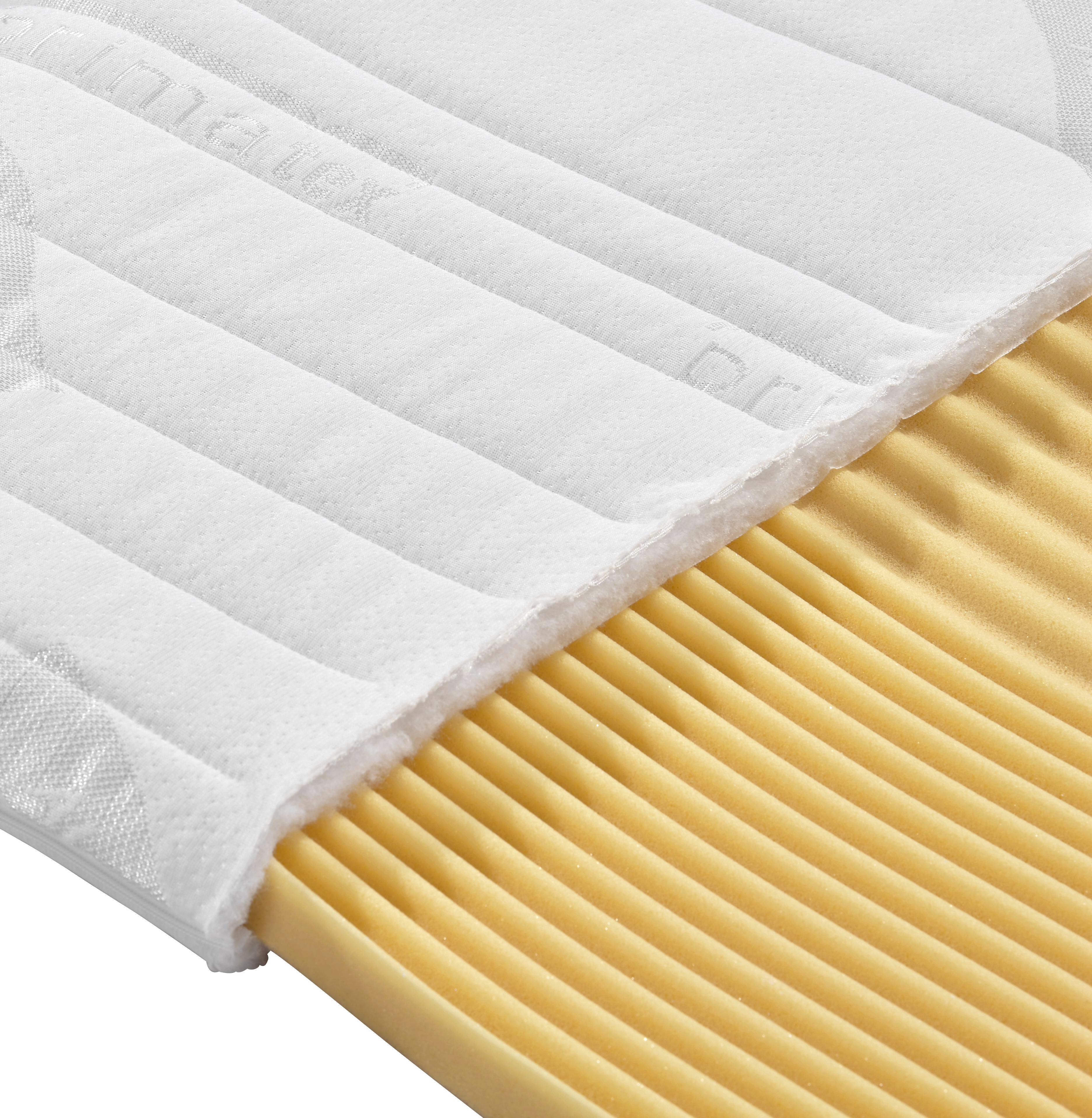 Fedőmatrac Visco - fehér, textil (90/200cm) - PRIMATEX