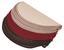Stufenmatte Birmingham 25x65 cm - Beige/Rot, KONVENTIONELL, Textil (25/65cm)