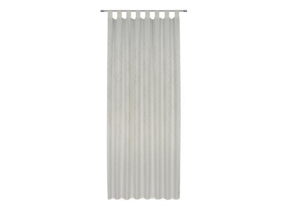 Kombivorhang Miranda - Weiß, ROMANTIK / LANDHAUS, Textil (140/255cm) - James Wood