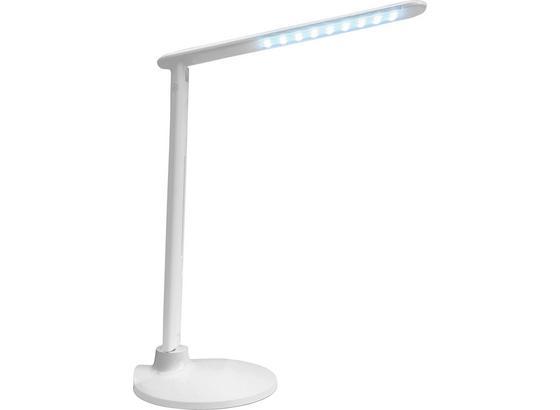 Lampa Na Písací Stôl Sean - biela, Konvenčný, kov/plast (19/19/47cm) - Mömax modern living