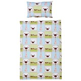 Kinderbettwäsche Bebe - Hellgrün, KONVENTIONELL, Textil