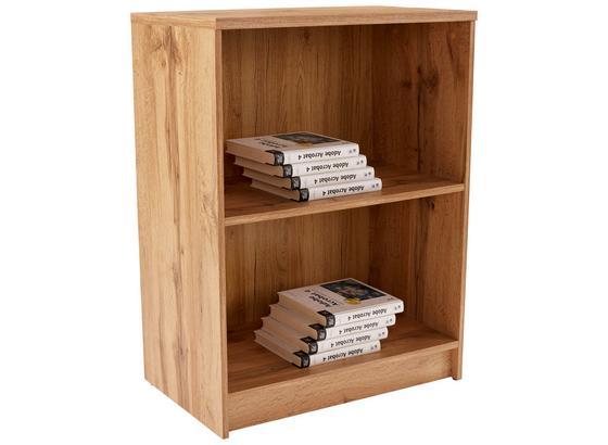 Regál 4-you New Yur01 - farby dubu, Moderný, kompozitné drevo (74/85,5/34,6cm)