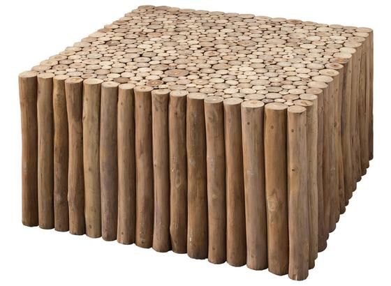 Couchtisch D: ca. 80 cm Naturfarben - Naturfarben, Basics, Holz (80/40/80cm)