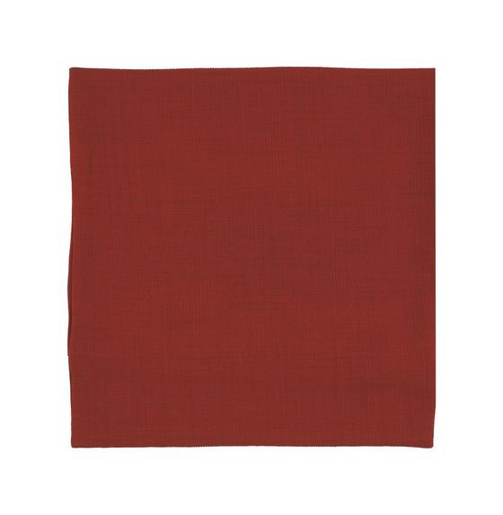 Povlak Na Polštář Vzhľad Ľanu - červená, Konvenční, textil (40/40cm) - MÖMAX modern living