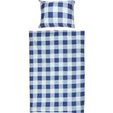 Bettwäsche Ingrid - Blau/Weiß, ROMANTIK / LANDHAUS, Textil (140/200cm)