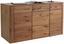 Sideboard Buffalo Buf 52t01 B:180cm Eiche Bianco Dekor - Eichefarben, KONVENTIONELL, Holz/Holzwerkstoff (180/88/44cm)