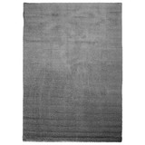 Hochflorteppich Nobel Micro 120/170 - Grau, MODERN, Textil (120/170cm)