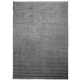 Hochflorteppich Nobel Micro 80/200 - Grau, MODERN, Textil (80/200cm)