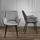 Stolička Valentine - čierna/sivá, Moderný, kov/drevo (66/92/47cm) - Mömax modern living