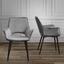 Stolička Valentine - čierna/sivá, Moderný, kov/drevo (66/92/62cm) - Mömax modern living