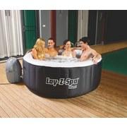Whirlpool Aufblasbar Lay-Z-Spa Miami Ø:180 X H:66cm 54123 - Schwarz/Weiß, KONVENTIONELL, Kunststoff (180/66cm) - Bestway