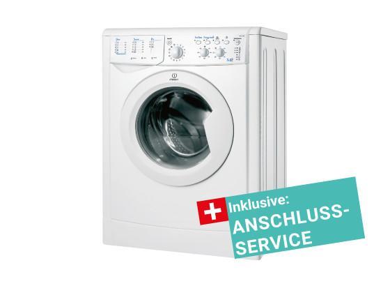 Indesit Waschtrockner Iwdc 71680 Eco inkl.service - Weiß, KONVENTIONELL (59,5/85/53,5cm) - Indesit