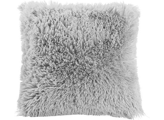 Dekoračný Vankúš Fluffy - svetlosivá, textil (45/45cm) - Mömax modern living