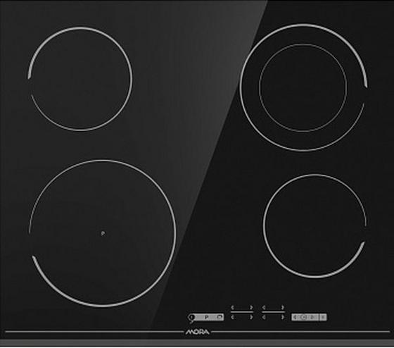 Sklokeramická Varná Doska Vdst 647 Ff (mora) - čierna, Basics, sklo (59,5 5,4 52cm) - Mora