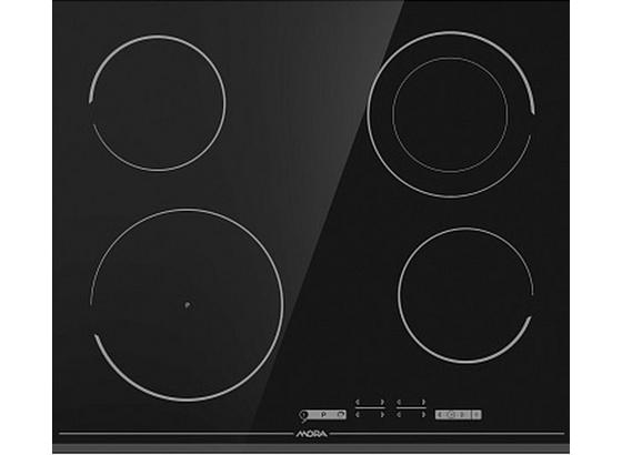 Sklokeramická Varná Doska Vdst 647 Ff (mora) - čierna, Basics, sklo (59,5/5,4/52cm) - Mora