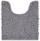 WC-Vorleger Liliane - Silberfarben, KONVENTIONELL, Textil (45/50cm) - Ombra