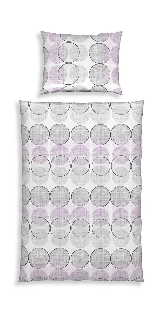 Bettwäsche Tonella - Lila, MODERN, Textil - Luca Bessoni