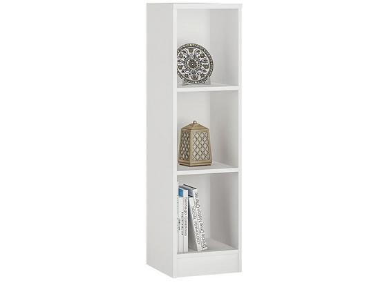 Regal 4-You B 30cm, Weiß - Weiß, MODERN, Holz (30/111,5/35,2cm)