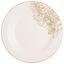 Plytký Tanier Flowers - biela/zlatá, Moderný, keramika (26,7cm) - Mömax modern living