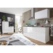 Küchenleerblock in Weiß 'welcome Jazz 4' - Anthrazit/Weiß, KONVENTIONELL, Holzwerkstoff (200+120cm) - MID.YOU