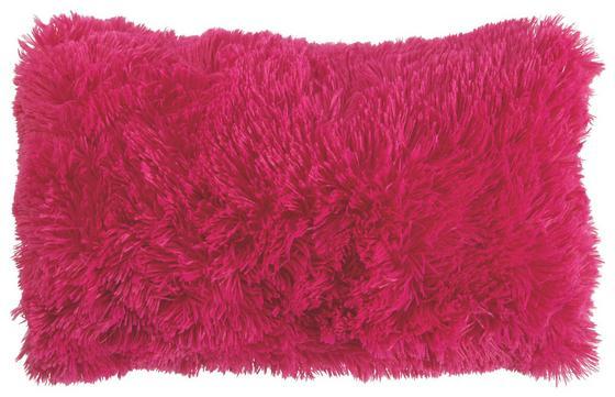 Díszpárna Carina - bogyó, modern, textil (30/50cm)