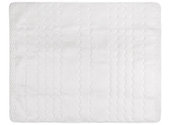 Chránič Matrace Visco, 90x200cm, Bílá - bílá, textil (90/200cm) - Nadana