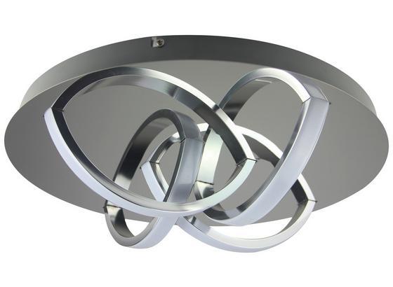 Led Stropná Lampa Chuck, Max. 16 Watt - chrómová, Moderný, kov/plast (35cm) - Modern Living