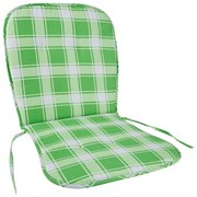 Sesselauflage Jessie Monoblock - Grün, MODERN, Textil (38/74cm) - Luca Bessoni