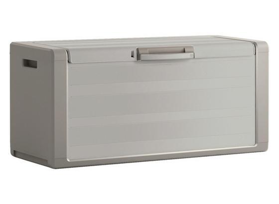 Keter Mehrzweckbox Wasserdicht Gulliver 118x55x49cm 300l Sand - Beige, Basics, Kunststoff (118/55/49cm) - Keter