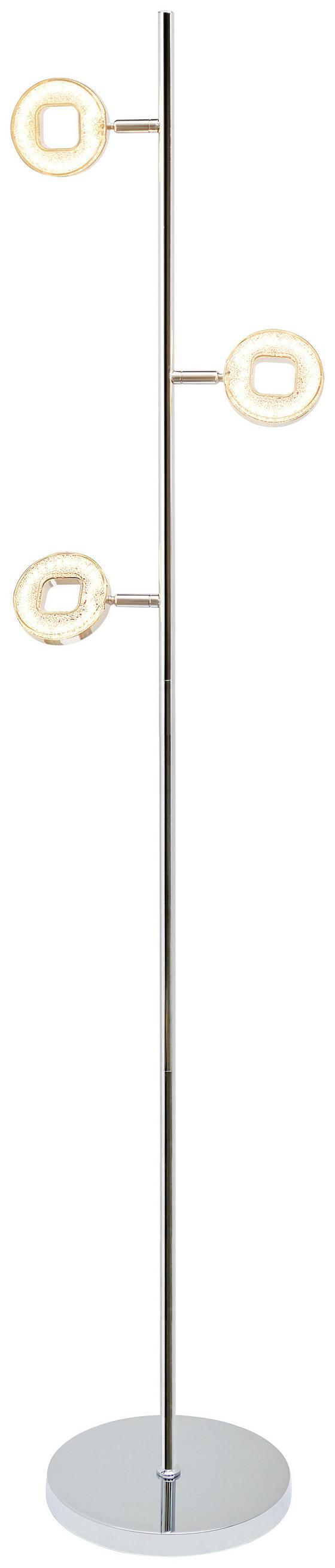 LED-Stehleuchte Pamela - MODERN, Kunststoff/Metall (150cm) - Luca Bessoni