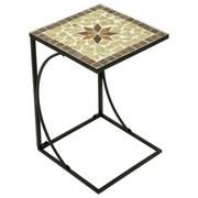 Blumentisch Amarillo - Multicolor/Schwarz, MODERN, Metall (35/35/53cm)