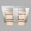 LED-Deckenleuchte Cluego - Chromfarben, MODERN, Glas/Metall (34/34/10,3cm)