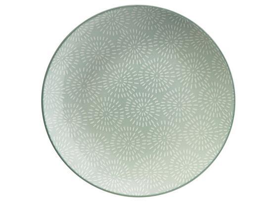 Talíř Dezertní Nina - mátově zelená, keramika (20cm) - Mömax modern living