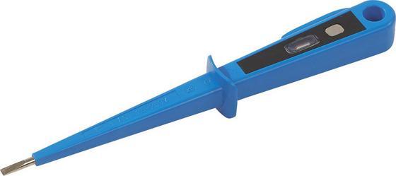 Spannungsprüfer Isolierter Schaft - Transparent/Silberfarben, KONVENTIONELL, Kunststoff/Metall (15cm)