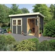 Gartenhaus Terragrau 420x230x270cm - Grau, Holz (420/230/270cm) - Karibu
