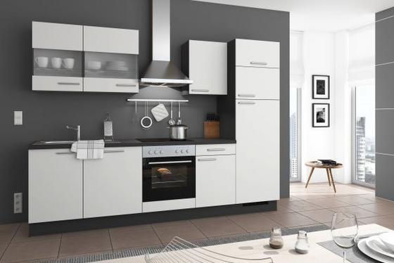 Küchenblock Welcome Jazz 4 Inkl Blockelement 200Cm Weiß Online