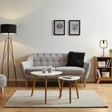 Pohovka Anela - sivá, Moderný, drevo/textil (168/84/79cm) - Mömax modern living