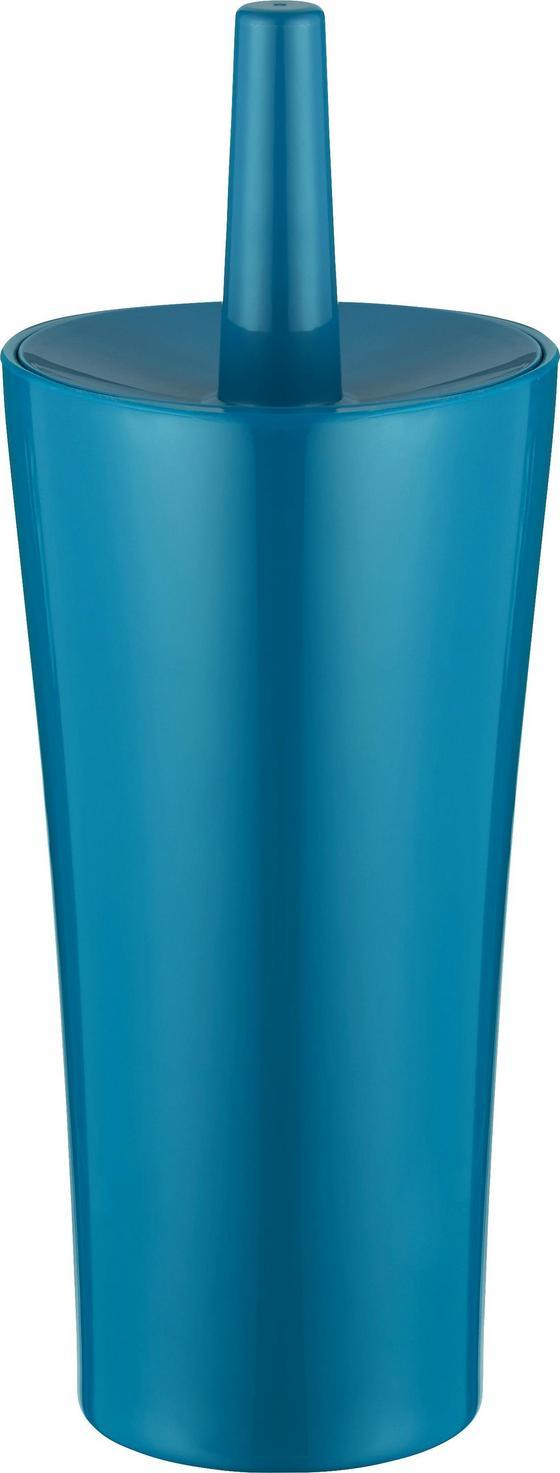 Wc Štětka Bella - petrolej, umělá hmota (12,4/32,5cm) - Mömax modern living