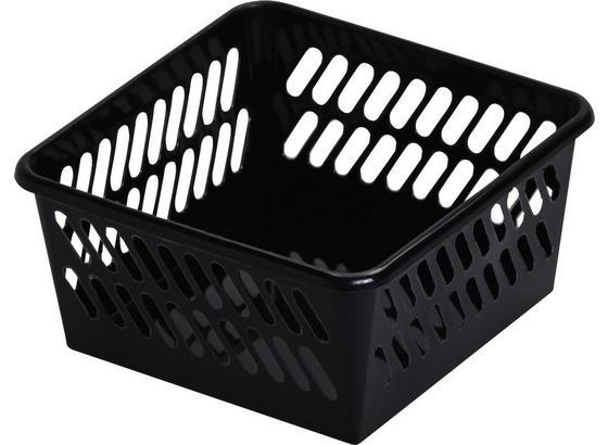 Košík Mimi - čierna, plast (9,5/4,9/9,5cm) - Mömax modern living