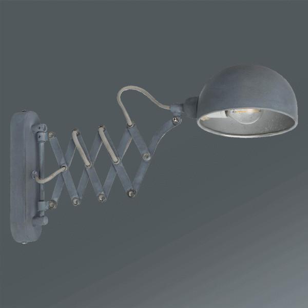 Svítidlo Nástěnné Matti - šedá, Lifestyle, kov (57/5/23cm) - MÖMAX modern living