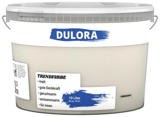 Wandfarbe 10 Liter Nebelgrau - Grau (10l) - Dulora