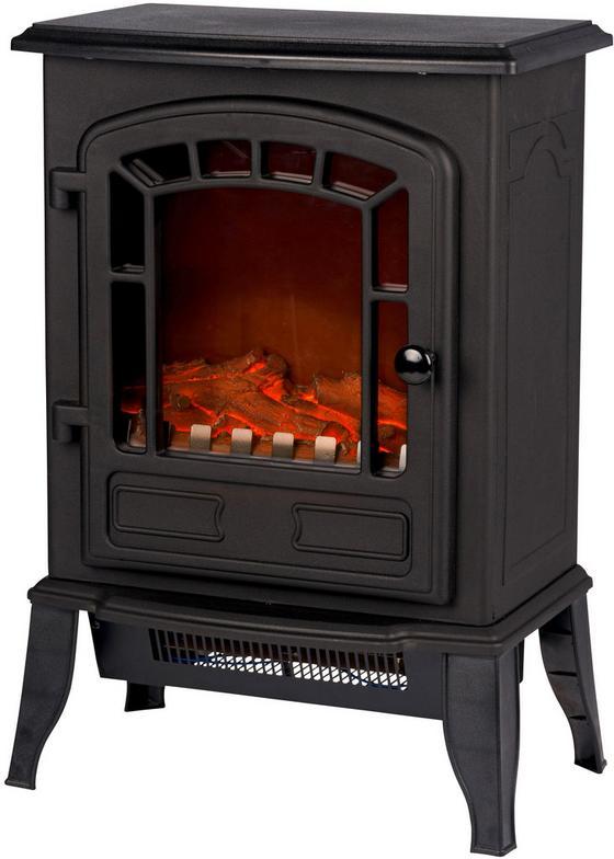 Elektrokamin Classic Fire Torino - Schwarz, KONVENTIONELL, Kunststoff (38/56,5/24cm)