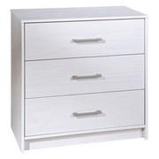 Kommode New York B: 70 cm Weiß - Weiß, Basics, Holz (70/71/35cm) - Livetastic