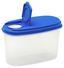 Schüttdose 1 Liter - Blau/Transparent, KONVENTIONELL, Kunststoff (9.5/12/18.5cm)